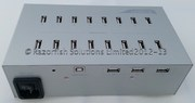 USB HUB 19 PORT for BITCOIN USB Asic Miner Razorfish