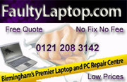 Faulty Laptop Repair Centre