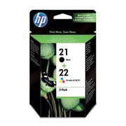 Buy HP 21 Black/22 Tri-color 2-Packs Ink Cartridges from Storeforlife