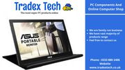 PC Components And Online Computer Shop - www.tradextech.co.uk